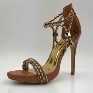 Queen Chateau Shoes - Queen Chateau Nina-1 Camel Heel